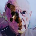 Pablo Picasso Portrait  by Enki Art