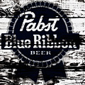 Pabst Blue Ribbon Beer Sign by Brian Reaves