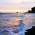 Pacific Coast Sunset by TL Mair