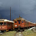 Pacific Electric Trolley, 5115, 316, Long Beach, California by Wernher Krutein