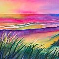 Pacific Evening by Karen Stark