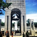 Pacific Gateway To The World War II Memorial by Angela Rath