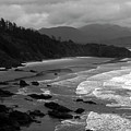 Pacific Ocean Moody Scenic by Sally Weigand