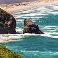 Pacific Ocean Shore by Jonny D