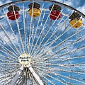 Pacific Park Ferris Wheel by Kristia Adams