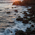 Pacific Sunset, Asilomar State Beach, Pacific Grove Ca #10030 by John Bald