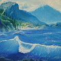Pacific Wave by Lara Leitch