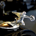 Packard Angel At The Marshall Steam Museum by Susan Hendrich