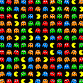 Pacman Seamless Generated Pattern by Miroslav Nemecek