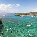 Padang Bai Panorama In Bali by Didier Marti