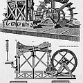 Paddle-driven Beam-engine Suction Pump by Wellcome Images