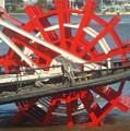 Paddlewheel At Rest by Marie Alvarez