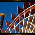 Paddlewheel With Border by Tim Hightower