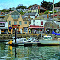 Padstow Harbour Slipway - P4a16023 by Dean Wittle
