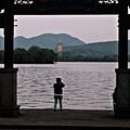 Pagoda At Dusk by George Taylor