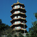 Pagoda In Taiwan by Carl Purcell