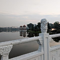 Pagoda Reflection In Chinese Garden Singapore by Nicholas Braman