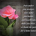 Pain Makes You Stronger Motivational Quotes by Daniel Ghioldi