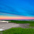 Paines Creek Sunset Cape Cod by Matt Suess