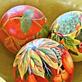 Painted Balls by Charles Muhle