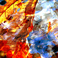 Painted Branches Abstract 1 by Anita Burgermeister