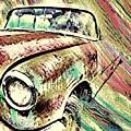 Painted Car by Jenn Teel