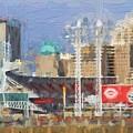 Painted Cincinnati Ohio by Dan Sproul