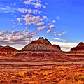 Painted Desert Colorful Mounds 003 by George Bostian