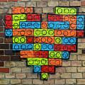 Painted Heart 1 Vienna Austria by Derek Moore