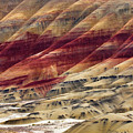 Painted Hills Contour by Mike  Dawson