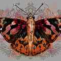 Painted Lady II by April Moen