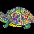 Painted Peace Turtle Too by Nick Gustafson