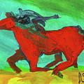 Painted Ponies - Spirit Rider by Roxanne Fawcett