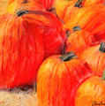 Painted Pumpkins by Chris Armytage