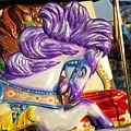 Painted Purple Pony by Toni Hopper