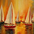 Painted Sails by Natalie Ortiz