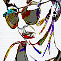 Painted Sunglasses by Michael Kallstrom