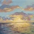 Painted Sunset by Kimberly Benedict