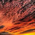 Painted Sunset by Richard Brooke