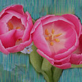 Painted Tulips by Linda Sannuti