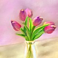 Painted Tulips by Mary Timman