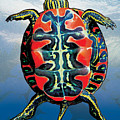 Painted Turtle Blue by JQ Licensing
