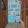 Painter In Venice by Wanda Turner