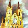 Painterly Church by Jim Love