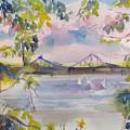 Painting In Nyack by Joyce Kanyuk