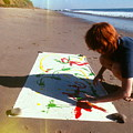 Painting In Sand by Pamela Maloney
