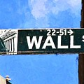 Painting Wall Street by Christopher Miles Carter