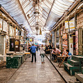 Paintings On The Stalls Of The Machane Yehuda Market, Jerusalem by Alexandre Rotenberg