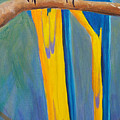 Pair Of Blue And Gold Macaws by Anne Marie Brown