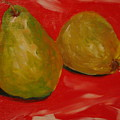 Pair Of Pears by Melinda Etzold